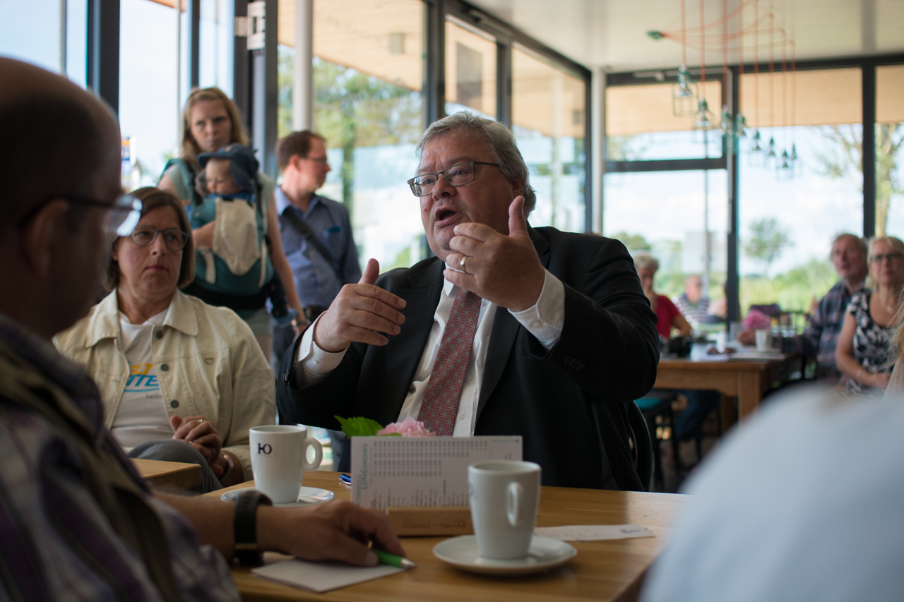 Reinhard Bütikofer zu Gast aus dem Europäischen Parlament