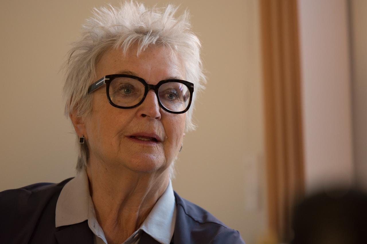 Ulrike Fröhling von Transparency International.